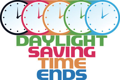 20171007 daylight savings ends