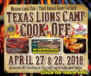 Mission Lions' Cook Off 2018