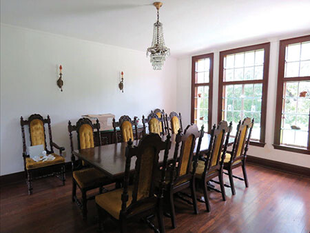 F Skaggs House Dining Room donation