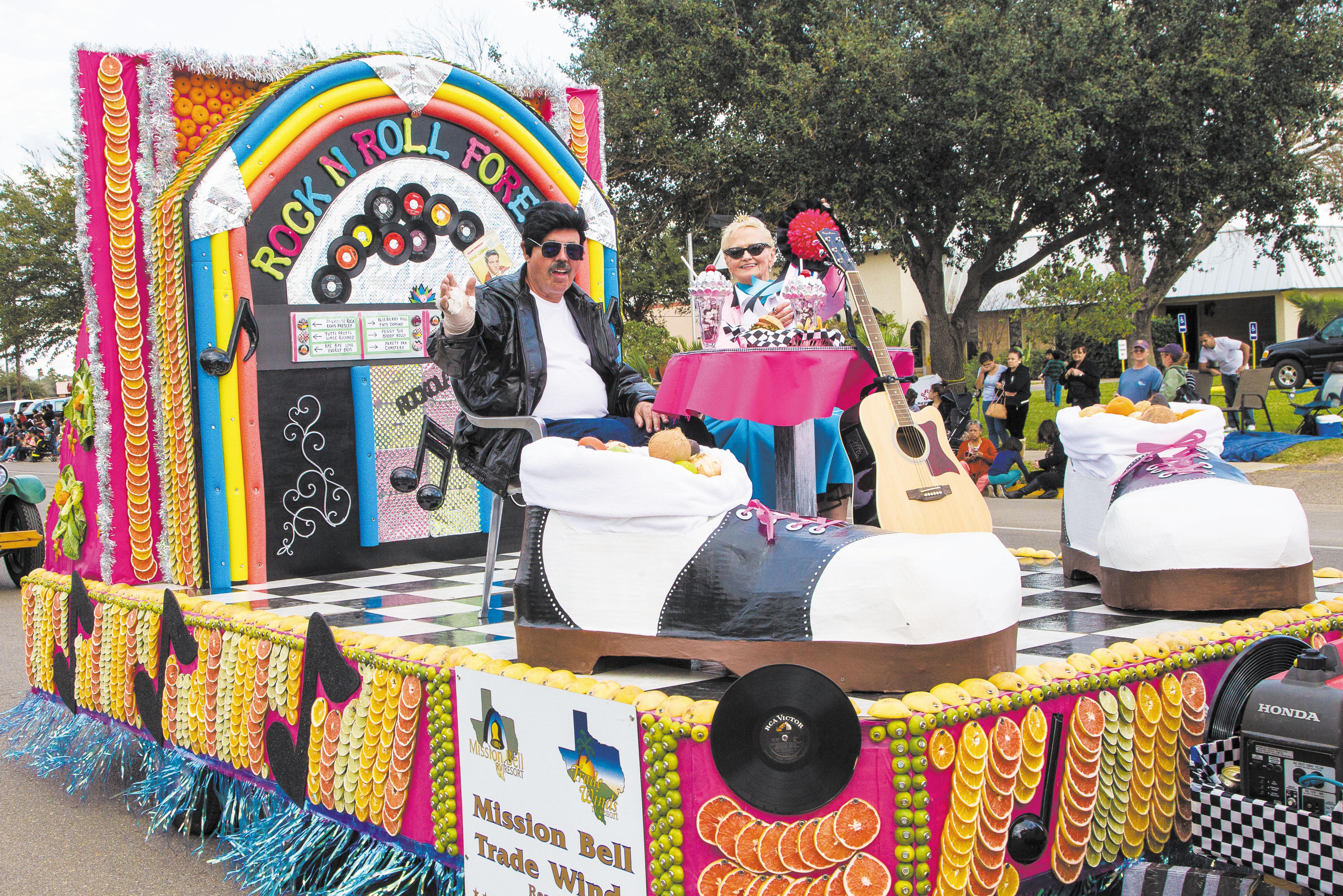 Texas Citrus Fiesta Shoe Box Float - YouTube