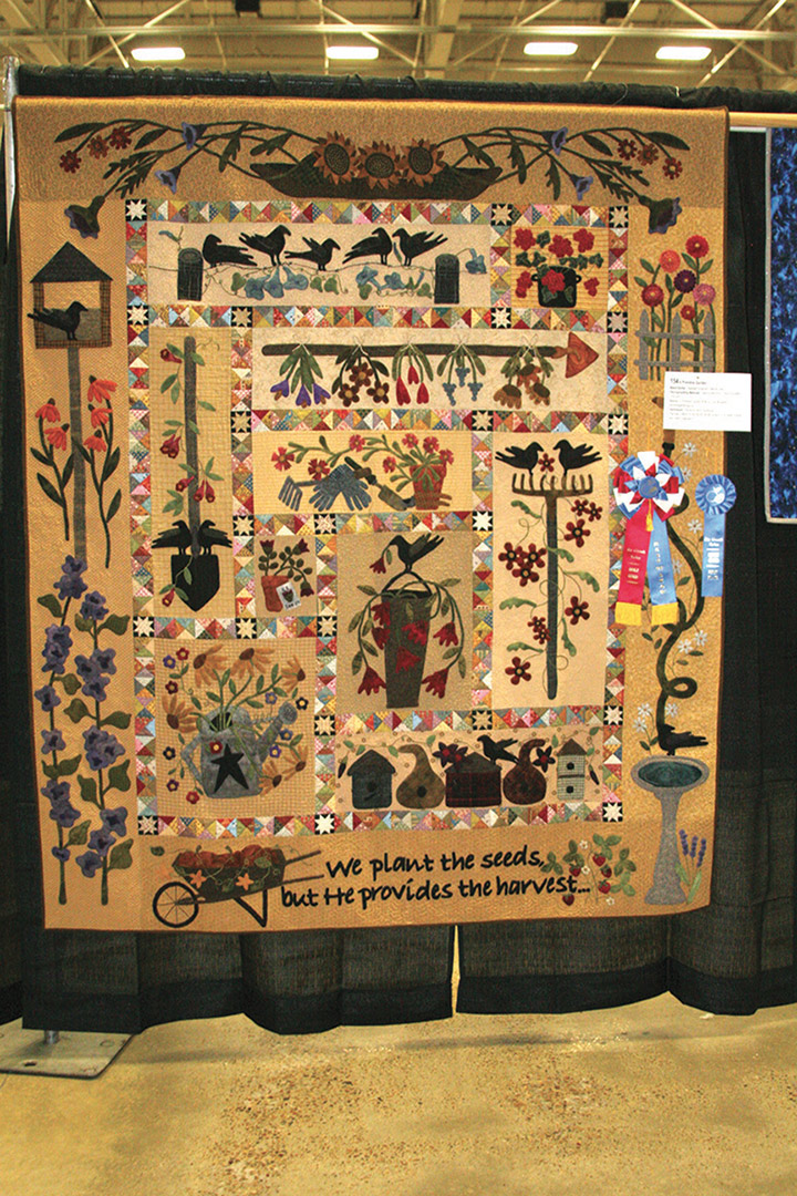 20160220 RGV Quilt Guild Show BA 0050 Best of Show
