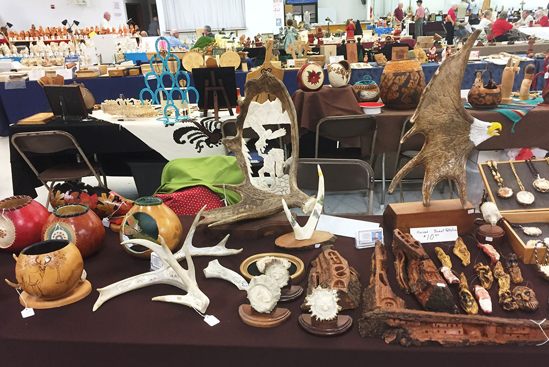 20180111 Woodcarvers Show Pic1