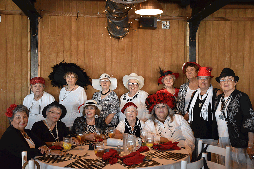 20180308 Red Hats Ladies Luncheon KODSC 0110